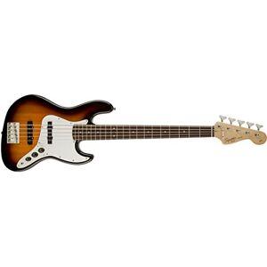 Fender Squier Fender Affinity Series Jazz Bass V, Laurel Fingerboard, Brown Sunburst (0371575532), Brown Sunburst, Laurel
