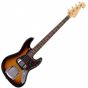 SX ELECTRIC BASS JAZZ STYLE IN VINTAGE SUNBURST - WITH GIG BAG
