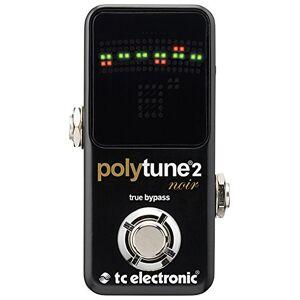 TC Electronic PolyTune 2 Noir-Polyphonic Chromatic Tuner