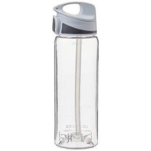 Sigg Switzerland Unisex Tritan BPA Free Miracle Water Bottle, Transparent/Grey, Medium