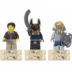 Lego Pharaoh's Quest magnet set (Jake Raines, Anubis guard and a Mummie)