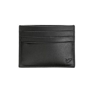 Tibaldi portacarte di credito in pelle nero 100x80mm LTM-CCC