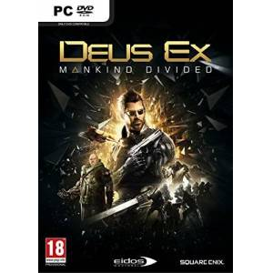 Koch Films Gmbh Deus Ex: Mankind Divided - Day One Edition (PC DVD)