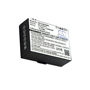 Cipherlab CP50 battery (3300 mAh, Black)