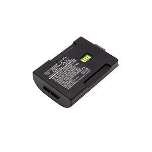 LXE MX7 battery (3400 mAh, Black)