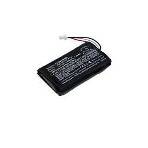 DataLogic RIDA DBT6400 battery (500 mAh, Black)
