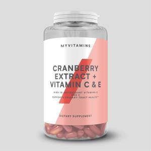 Myprotein Cranberry Extract + Vitamin C & E - 60Softgels