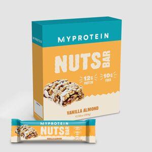Myprotein NUTS Bar - 6 x 50g - Vanilla Almond