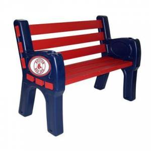 """Imperial """"""""""""Boston Red Sox Park Bench"""""""""""""""