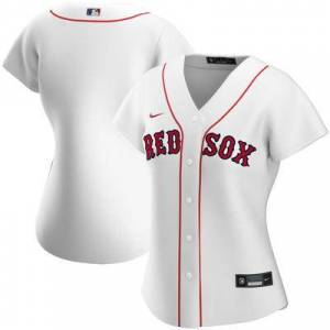 "Nike """"""Women's Nike White Boston Red Sox Home 2020 Replica Team Jersey"""""""