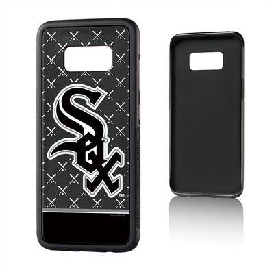 """""""Strategic Printing"""""" """"""Chicago White Sox Galaxy S8 Stripe Bump Case"""""""