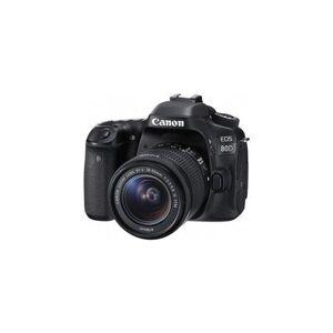 Canon EOS 80D 24.2 MP SLR - EF-S 18-55mm IS STM Lens
