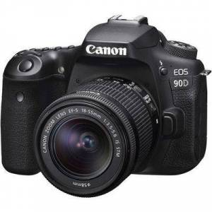 Canon EOS 90D DSLR Camera with 18-55mm Lens
