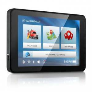 Rand McNally IntelliRoute TND 540LM Truck GPS Vehicle Navigation System With Lifetime Maps (TND540LM)