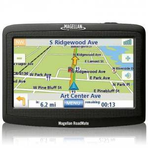 Magellan RoadMate 1412 Automotive GPS Navigation System 4.3-Inch With U.S. and Canada Entire Maps (RM1412SGXNA)