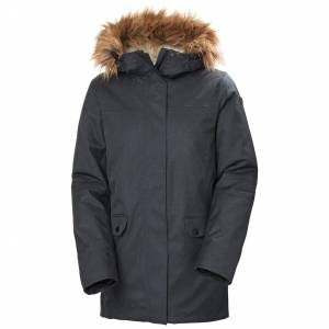 Helly Hansen W Hooded Parka Womens Navy S