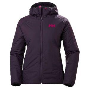 Helly Hansen W Odin Stretch Hooded Insulator Jacket Womens Hiking Purple S