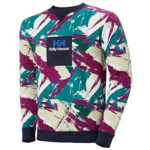 Helly Hansen Yu20 Crew Neck Sweater Green XXL
