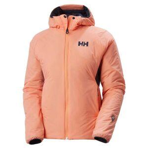 Helly Hansen W Odin Stretch Hooded Insulator Jacket Womens Hiking Orange XS