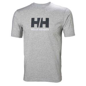 Helly Hansen Logo Tshirt Mens Grey XL
