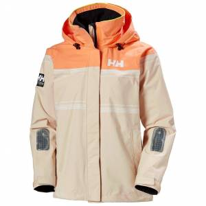Helly Hansen W Saltro Jacket Womens Sailing Brown M