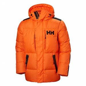 Helly Hansen Arctic Patrol Down Parka Mens Orange M