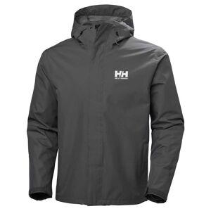 Helly Hansen Seven J Jacket Mens Parka Grey S