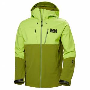 Helly Hansen Odin Mountain Softshell Jacket Mens Hiking Green M