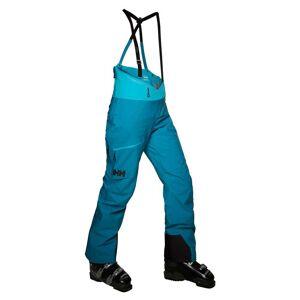 Helly Hansen W Odin Mountain 3l Shell Bib Pant Womens Hiking Blue XL