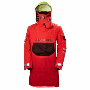 Helly Hansen Ægir Ocean Dry Top Sailing Jacket Red S