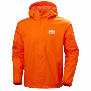 Helly Hansen Seven J Jacket Mens Parka Yellow XXL