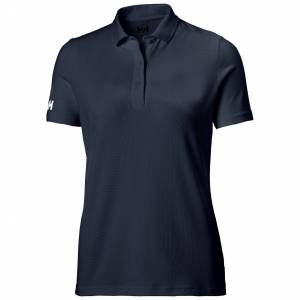 Helly Hansen W Crew Tech Polo Womens Navy M