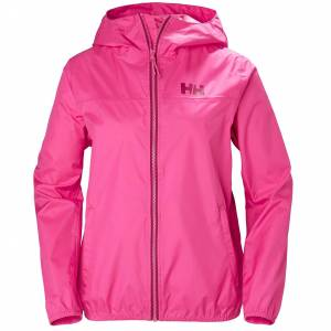 Helly Hansen W Belfast Packable Jacket Womens Rain Pink M