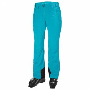Helly Hansen W Legendary Insulated Pant Womens Ski Blue XS