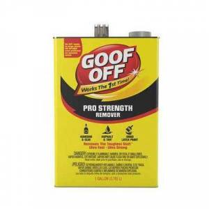 GOOF OFF FG657 Professional Strength Remover,1 gal.