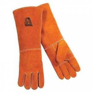 STEINER 21918-L Welding Gloves,Stick,L,18 In. L,Wing,PR