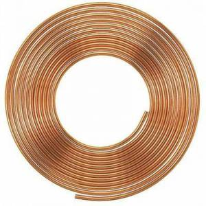 "MUELLER INDUSTRIES ""MUELLER INDUSTRIES LSC2020P 3/8"""" OD x 20 ft. Coil Copper Tubing Type L"""