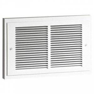 BROAN 120 Electric Wall Heater, Recessed, White, 500/1000, 750/1000 Watts