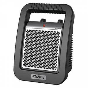 AIR KING 8945 Electric Space Heater, 1500W/900W, 120v, 1 Phase, 5118 / 3070 BtuH