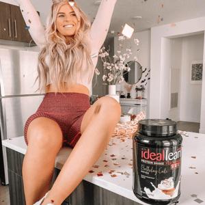 IdealFit IdealLean Protein - Birthday Cake - 30 Servings
