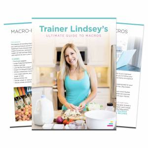 IdealFit Trainer Lindsey's Ultimate Guide to Macros eBook