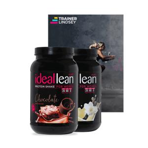 IdealFit 2 Protein Tubs + Free 45 Cardio eBook - Child