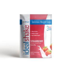 IdealShape IdealShake Strawberry Sample