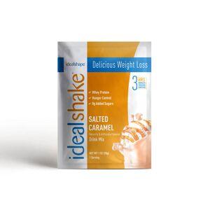 IdealShape IdealShake Salted Caramel Sample