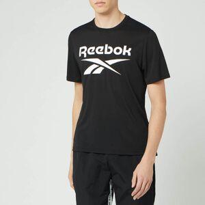 Reebok Men's Supremium Graphic Short Sleeve T-Shirt - Black - XXL