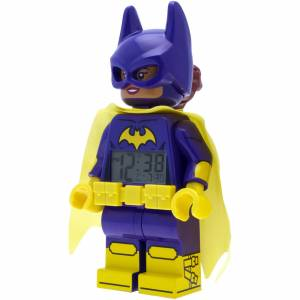 Lego Batman Movie: Batgirl Minifigure Clock