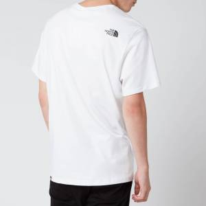 The North Face Men's Easy Short Sleeve T-Shirt - TNF White - L