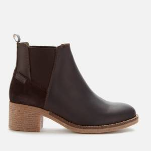 Barbour Women's Jane Leather Ankle Boots - Black - UK 5