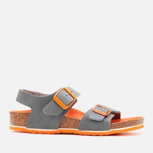 Birkenstock Kids' New York Double Strap Sandals - Desert Soil Vibrant Grey - EU 30/UK 11.5 Kids