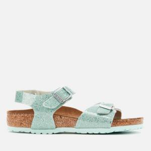 Birkenstock Kids' Rio Plain Sandals - Cosmic Sparkle Mineral - EU 30/UK 11.5 Kids